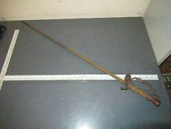 Antique Us Military M1860 Staff And Field Sword Restore / Parts