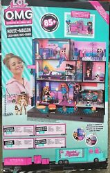 Lol Surprise Omg House Real Wood Doll House With 85+ Surprises New