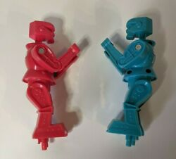 Rock Em Sock Em Robots, Blue Bomber And Red Rocker, Boxing, Replacement Parts Only