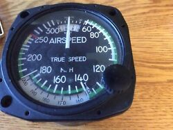 United Airspeed Indicator P/n 8130 Yellow Tagged