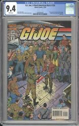 Marvel G.i.joe A Real American Hero 155 Cgc 9.4 The Final Issue 1994