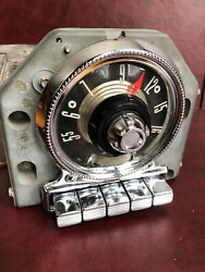 55 Ford Am Fm Converted Radio With Aux Input Fairlane Mainline Victoria