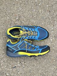 Asolo Grid Gv Mm Menandrsquos Size 9 D Indian Teal Yellow Hiking Shoe