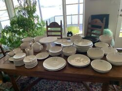 Rae Dunn Lot Pottery 71 Piece Ceramic No Melaminecollection Now Discounted