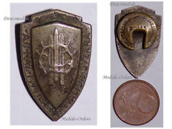 Italy Wwi Wounded Aid Patriotic Badge Great War Italian Military Decoration 1914