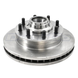 Disc Brake Rotor And Hub Assembly Front Pronto Br55081