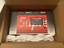 """Supreme X Akai Mpc Live Ii Standalone Dj Sampler """"order In Hand"""" Only 1000 Made."""