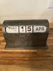 🔥ashland Table Top Clock-like Calender Month Day Week Spin