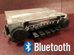 60s 70s Volkswagen Vw Sapphire Xv Am Fm Bluetooth Usb Radio With Aux, Hands Free