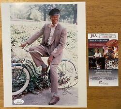 Morgan Freeman Signed Autographed 8x10 Photo Jsa Certified Driving Miss Daisy