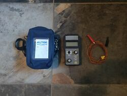 Altek Techchek 820 Multifunction Calibrator With Case Leads Fully Tested