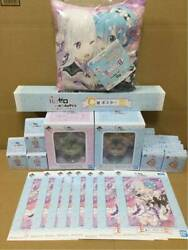 Ichiban Kuji Re Life In A Different World From Zero Full Complete Set Free Ship