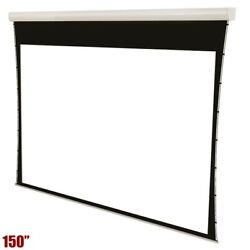 150 169 Motorized Projection Screen 4k Uhd Wall Ceiling Mountable Home Theater