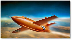 On The Edge By Peter Chilelli - Bell X-1 - Aviation Art Print