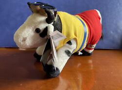 2006 Cow Parade Plush - Cowabunga Cow - Sunglasses Numbered - Preowned W Tags