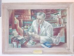 Most Precious Peice Of Paper In The World By Frede Vidar Painting Abbott 1948