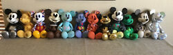 Disney Mickey Mouse Memories Complete Set 12 Plush January- December Nwt