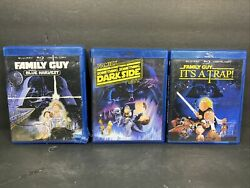 The Family Guy Star Wars Trilogy Blu-ray And Maybe Digital Copy Free Shipping