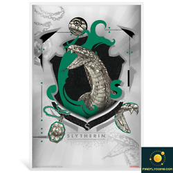 2020 Harry Potter Hogwarts House Banners - Slytherin 5g Silver Coin Note