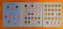 1857 - 1909 Indian Head Penny Lot Of 36 Different Dates Partial Set