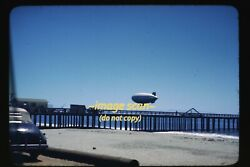 Wwii Navy Airship Blimp Aircraft In California In 1940and039s Original Slide E14a