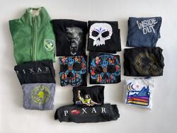 Pixar Studio Store Disney Crew Shirt And Track Jacket Collection Sizes L To Xl