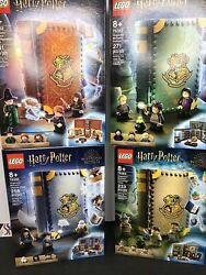 Lego Harry Potter Hogwarts Moment Charms Herbology Potions Transfiguration All 4