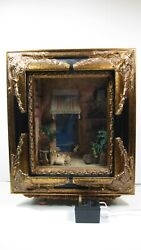 Dollhouse Miniatures-roombox 1-moroccan Box By Rainbow Hand And Kathy - Mint