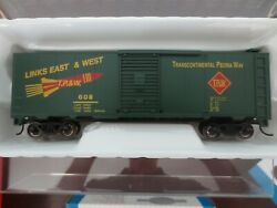 Bachmann Ho Scale Silver Series 40' Box Car Toledo Peoria And Western