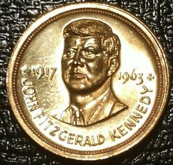 1963 John F Kennedy Medal Fitzgerald Coin Peace Freedom Donand039t Come Cheap Token