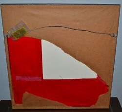 Antique Chinese Embroidered Pheonix Rising Blue Silk Roundel Badge Objects Qing