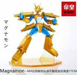 Digimon Magnamon Resin Figure Movable Toy Model Painted Articles King Studio