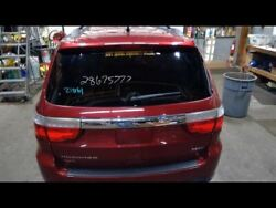 Hatch Tailgate Privacy Tint Glass Red Paint Code Prp Fits 11-13 Durango 754942