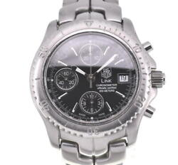Tag Heuer Link Ct5111 Chronograph Chronometer Automatic Menand039s Watch J103246