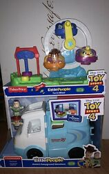 Fisher Price Little People Toy Story Rv And Ferris Wheel