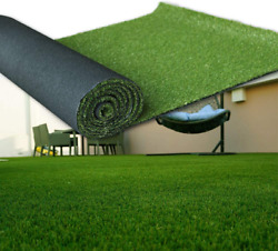 Lita Artificial Grass 15and039 X 75and039 1125 Square Feet Realistic Fake Grass Deluxe T