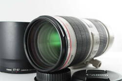 Mint Canon Canon Ef 70-200mm F2.8 L Is Ii Usm Tripod Seat / Hooded Specialty Sto