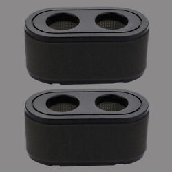 2 Air Filter For Toro Timecutter 42 50 V-twin Engine Exmark 127-9252 136-7806