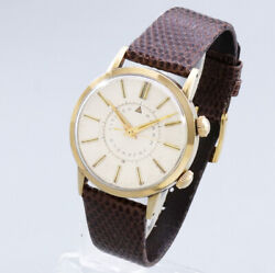 Wristwatch Citizen Citizen Alarm Men's Used Gold Stainless Steel Manual