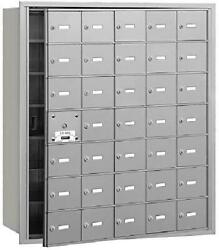 Salsbury Industries 3635afu 4b+ Horizontal Mailbox With Front Loading And Usps A