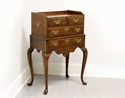 Pennsylvania House Solid Cherry Queen Anne Style Silver Chest