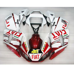 Vy Vy Abs Bodywork Fairing Fit For Yamaha Yzf-600 R6 White 1998-2002