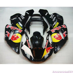 Vy Black Red Bodywork Fairing Fit For Yamaha Yzf-600 R6 1998-2002 99 2000 01