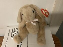 Antique Classic Ty Plush Beanie Bunny 1988 Tush Tag Uk Hang Tag Style 8000