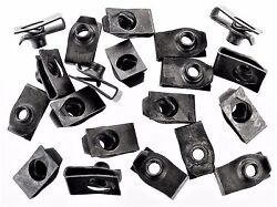 Chevy U-nut Clips- 1/4-20 Thread- 17/32 Center Of Hole To Edge- 20 Clips- 192
