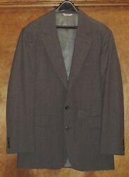 Colony Menand039s Shops Menand039s Fully-lined Blazer/jacketsz 42l Gray Poly/wool Blend