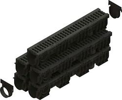 Standartpark - 4 Driveway Premium Trench Drain Channel B Class Load Rated Lbs