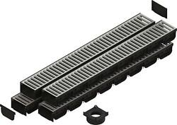 Standartpark - 4 Inch Spark 2 Stainless Pro Trench Drain Channel 4