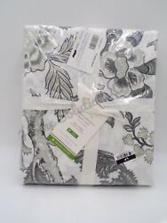 Pottery Barn Caselyn Palampore Organic Percale Duvet Cover King Charcoal 9851