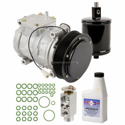 For John Deere Buck 500 And Buck 500 Auto Oem Ac Compressor W/ A/c Repair Kit Gap